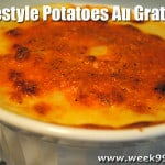 Home Style Potatoes Au Gratin Recipe with Epicurean Cutting Board Review