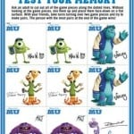 New Monsters University Printable Games!