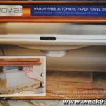 Innovia Automatic Paper Towel Dispenser Review and Giveaway