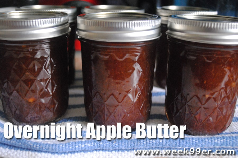 Overnight Apple Butter Canning Recipe