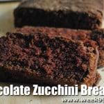 Gluten Free Chocolate Zucchini Bread Recipe