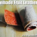 Homemade Fruit Leather – Strawberry Apple!