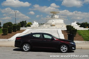 Kia Optima EX – Style and Space Combined