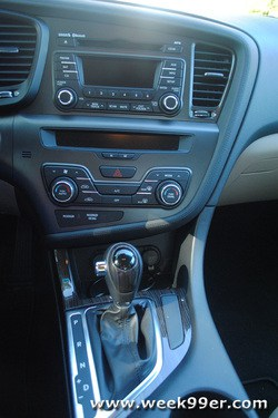 Kia Optima EX Interior