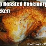 Oven Roasted Rosemary Chicken Recipe