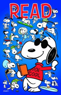 Joe Cool Reading Poster