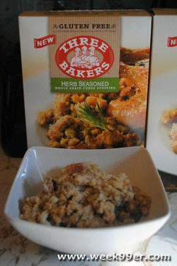 Three Bakers Herb Seasoned Stuffing