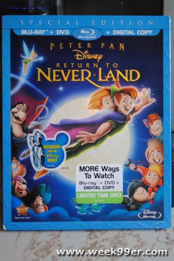 Peter Pan Return to Neverland Review