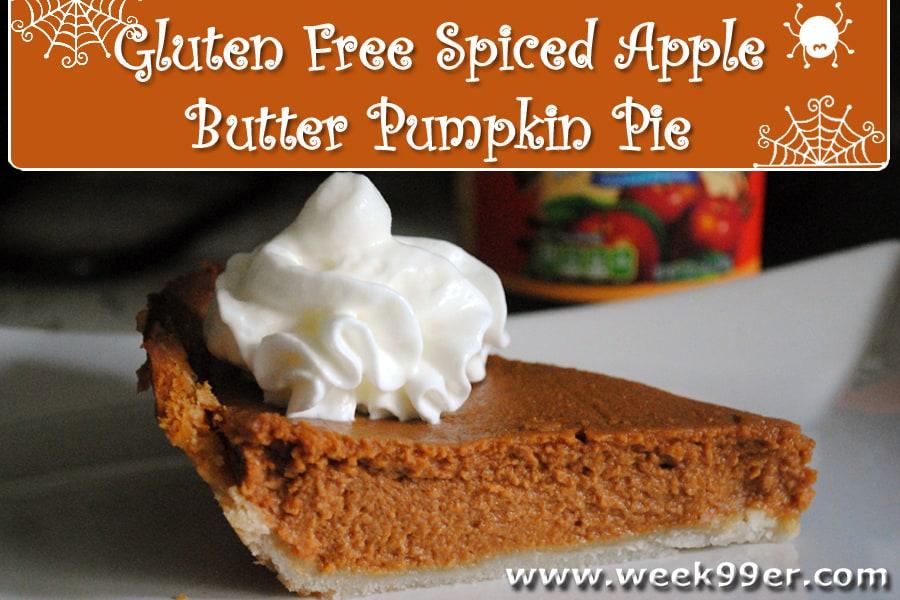 spiced apple butter pumpkin pie recipe