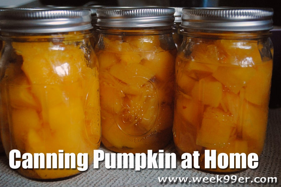 Home Canned Pumpkin