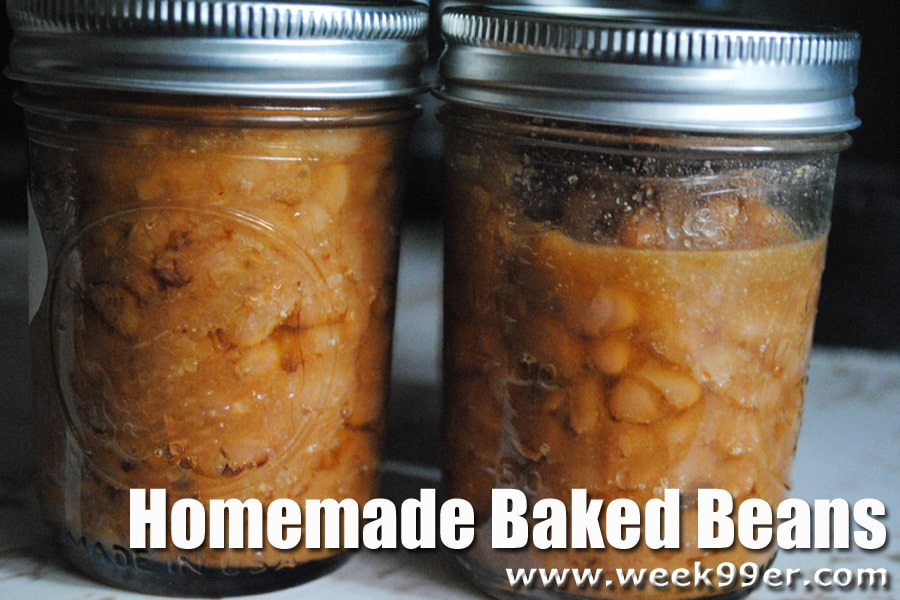 baked beans canning recipe