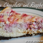 White Chocolate and Raspberry Cheesecake Recipe