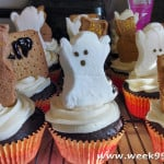 Cupcake Graveyard with Gluten Free Devil's Food Cake Recipe