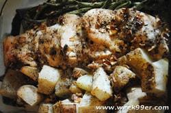 Herbed Chicken and Veggies
