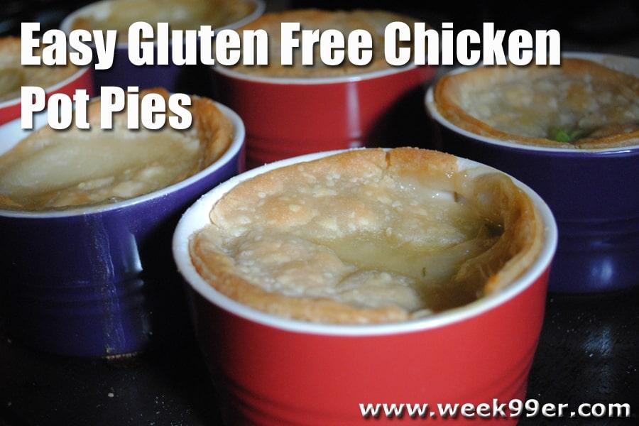 Easy Gluten Free Chicken Pot Pie Recipe