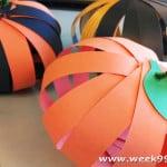 Easy Paper Pumpkins Crafts for Kids!