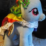 Regal MY LITTLE PONY RAINBOW DASH Review & Bear Buck$ Giveaway!
