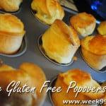 Easy Gluten Free Popover Recipe