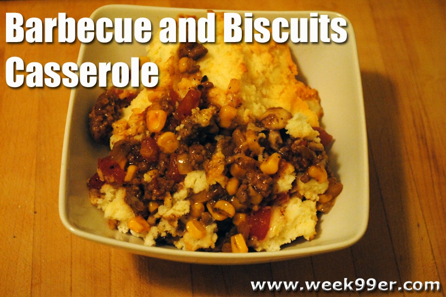 Barbecue and Biscuits Casserole Recipe
