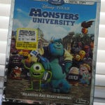 Monsters University on Blu-Ray Combo Pack in time for Halloween!