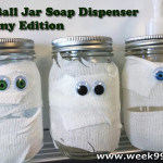 DIY Gift Idea: Ball Jar Soap Dispenser – Mummy Edition!