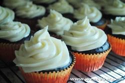 Devil's Food Cake Cupcakes