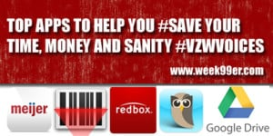 Top Apps to Help You #Save Your Time, Money and Sanity!#VZWVoices