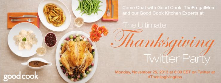 good cook thanksgiving twitter party