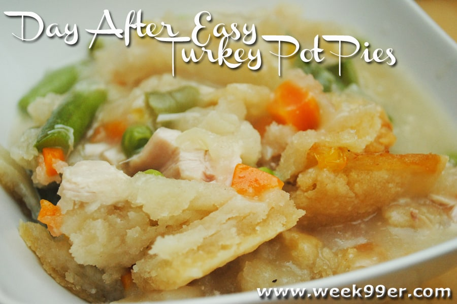 day after pot pie recipe