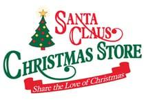 Santa Claus Christmas Store Logo
