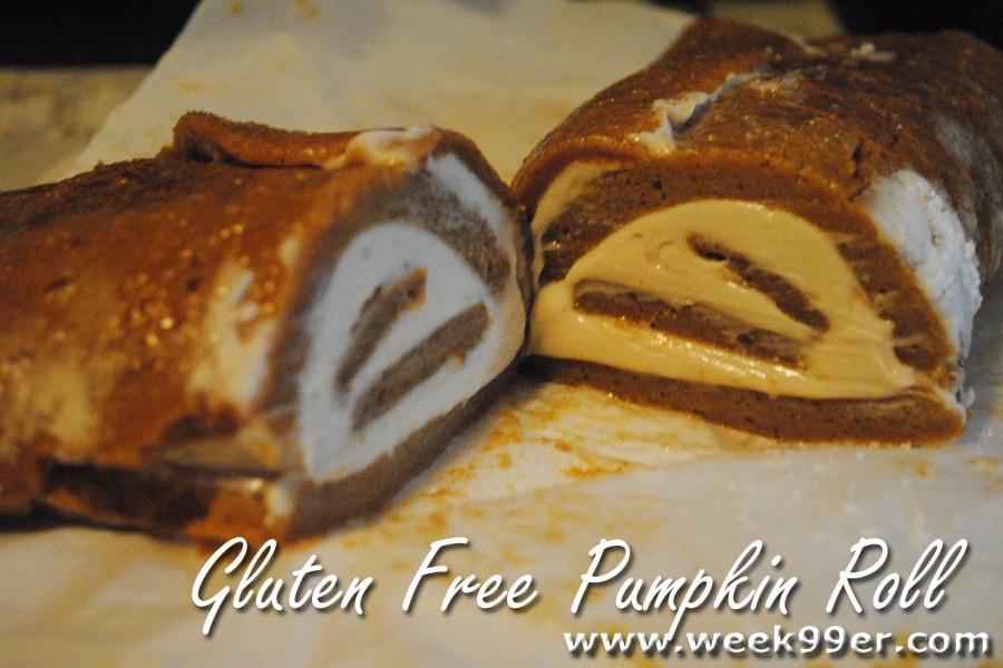 gluten free pumpkin roll