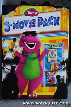 barney movie 3 pack review