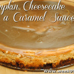 Easy Gluten Free Pumpkin Cheesecake with a Caramel Topping