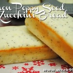 Gluten Free Lemon Poppy Seed Zucchini Bread Recipe