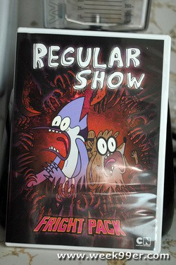 regular show fright pack review