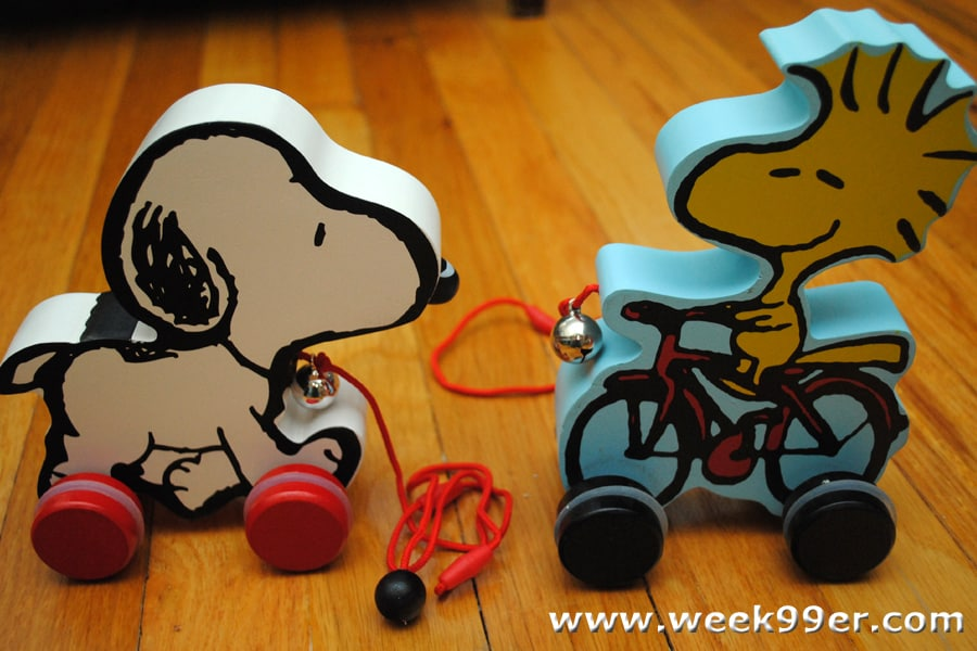 peanuts pull toys review