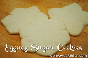 Gluten Free Eggnog Sugar Cookie Recipe