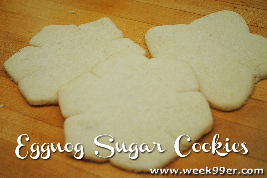 Gluten Free Eggnog Sugar Cookie Recipe