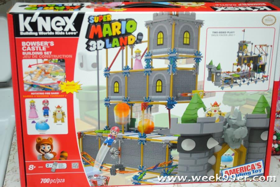 K Nex Super Mario 3d Land Bowser S Castle Building Set Building