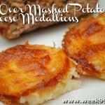 Left Over Mashed Potato & Cheese Medallions: #6 Good Cook Leftover Recipe#goodcookcom #goodcookkitchenexprt
