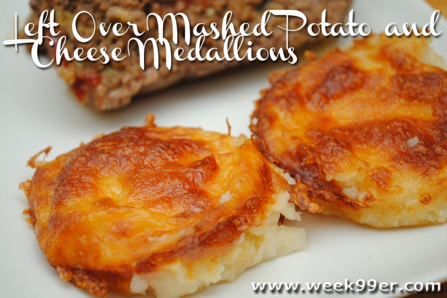 mashed potatoes medallions