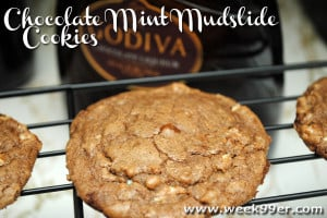 Chocolate Mint Mudslide Cookies – Gluten Free!