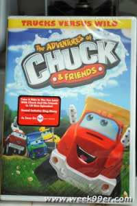 The Adventures of Chuck and Friends Trucks Versus Wild Review!