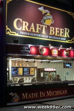Detroit Pistons local craft beers