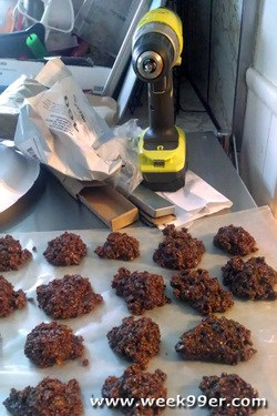 power drills and cookies