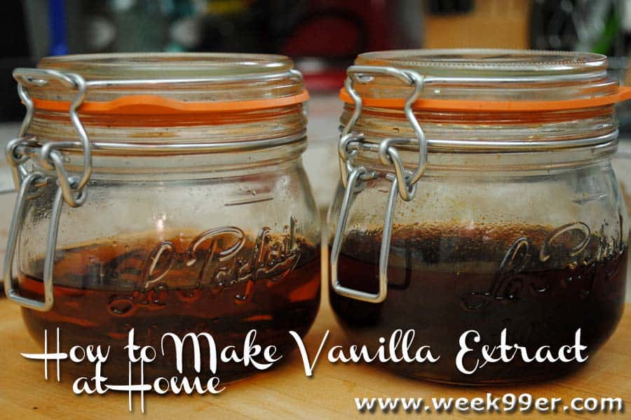 Homemade Vanilla Extract Recipe