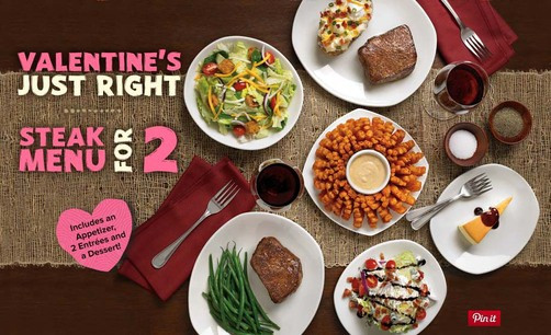 easy valentines dinner steak for two a chance to win a gift card from outback outbackbestmates spon