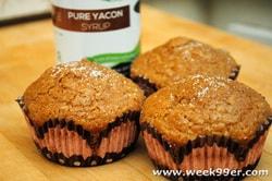 Sweet Yacon Muffins