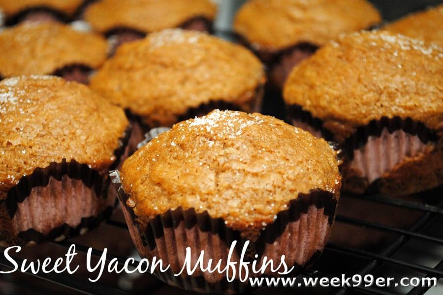 yacon muffins recipe