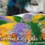 Gluten Free King Cake Recipe#MardiGras